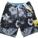Speedo Mens size 36 Dobby Watershorts Boardshorts with Speedry Gray Swim Shorts New