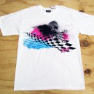 Quiksilver Boys XL Tee Shirt White Short Sleeve T-shirt Youth Extra Large