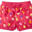 Jumping Beans Baby Girls 9 Mos Pink Ice Cream Print Bubble Shorts
