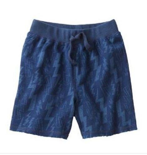 Jumping Beans Baby Boys 12 Mos Navy Blue Lightning Bolt Knit Shorts