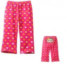 Jumping Beans Baby Girls 18 Mos Heart Print Pants with Monkey Back
