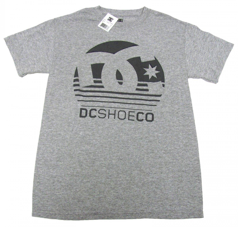 DC Shoes Mens S Arising Tee Shirt Heather Gray T-shirt Small New