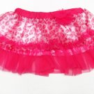 Baby Starters Girls 12 Mos Pink Leopard Print Tutu Skirt Infant