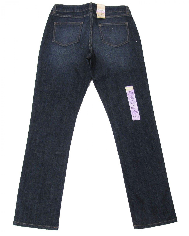 Arizona Girls 14 Skinny Jeans Dark Denim Blast Blue Youth