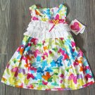 Youngland Baby Girls 18 Mos Butterfly Sundress Sleeveless Dress Girl's Spring New