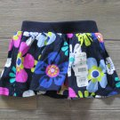 Jumping Beans Scooter Skirt Navy Blue Floral Skort Baby Girls 18 Months
