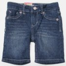Levis Girls 2T Bermuda Shorts Sully Sweetie Denim Blue Jean Toddler Levi's