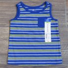 Okie Dokie Blue Striped Tank Top Pocket Shirt Baby Boys 9 Mos New