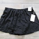 Caribbean Joe 20W Black Swim Skirt Skirtini Womens Plus Size New