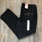SO Juniors size 17 Skinny Jeans Black New