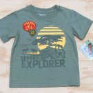Z Boyz Wear by Nannette Boys 2T Animal Reserve Safari Explorer T-shirt Short Sleeve Tee Shirt