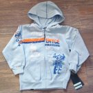 Enyce Boys Blue Hoodie Full Zip Sweatshirt Toddler 3T New