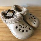 Doggers Fleece Clog Shoes Mens 9/10 Tan
