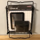 LockerMate 3-piece Locker Kit Black