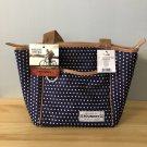 Fit + Fresh The Foundry Kinsley Lunch Tote Polka Dot