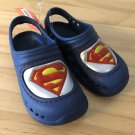 Superman Kids Clogs Foam Shoes toddler boys 7