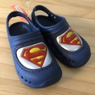 Superman Kids Clogs Foam Shoes toddler boys 8