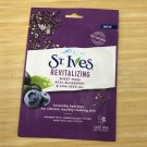 St Ives Revitalizing Sheet Mask Facial