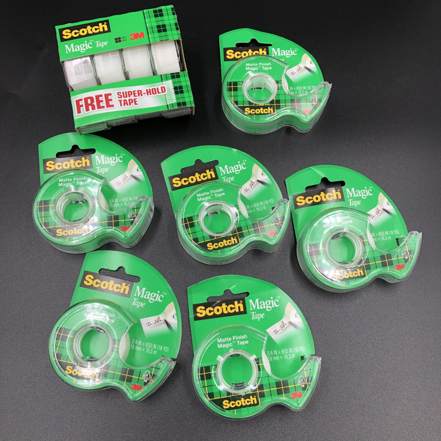 3M Scotch Magic Tape Bulk Lot