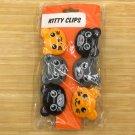 Kikkerland Kitty Clips chip clips bag clips