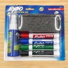 Expo Dry Erase Set Markers Cleaner Eraser