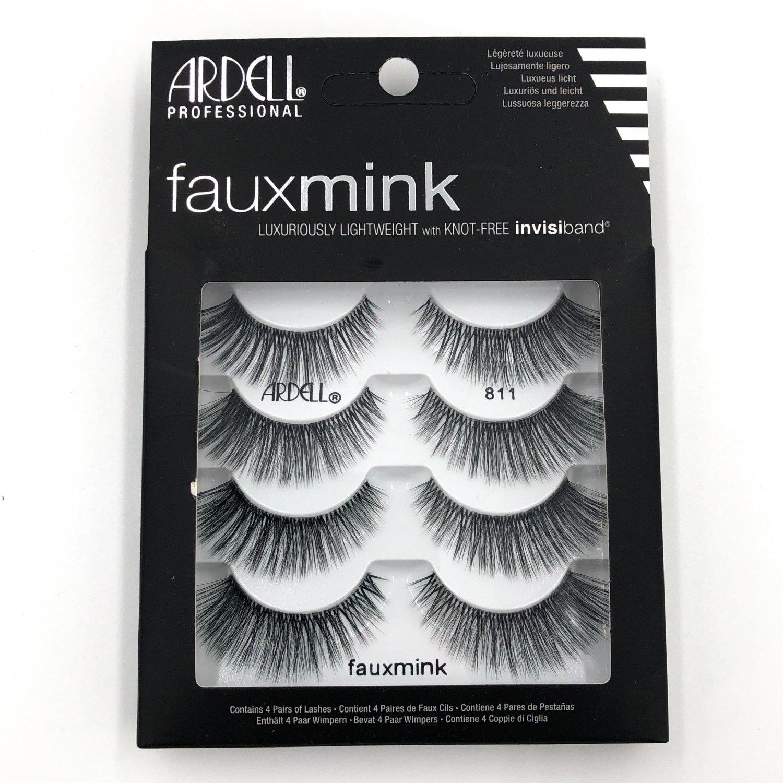 Ardell Fauxmink Lashes 811 mink lash 4-pack