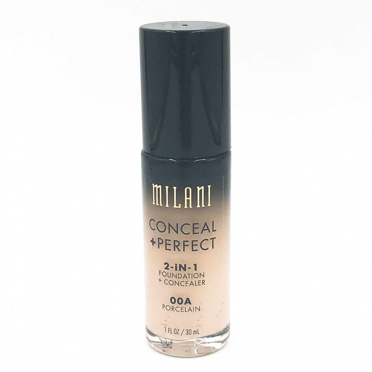 Milani Conceal + Perfect 2-in-1 Foundation + Concealer 00A Porcelain