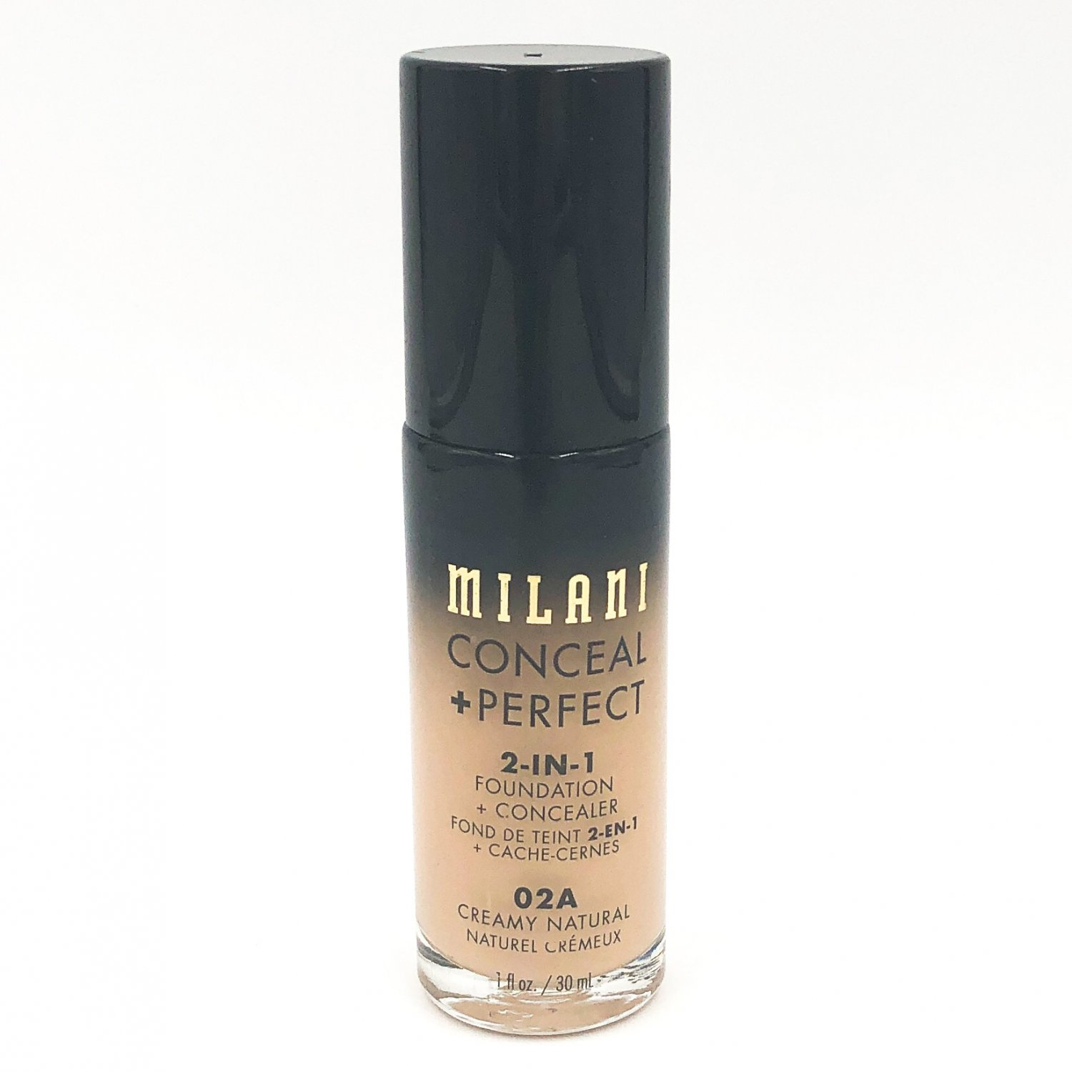 Milani Conceal + Perfect 2-in-1 Foundation + Concealer 02A Creamy Natural