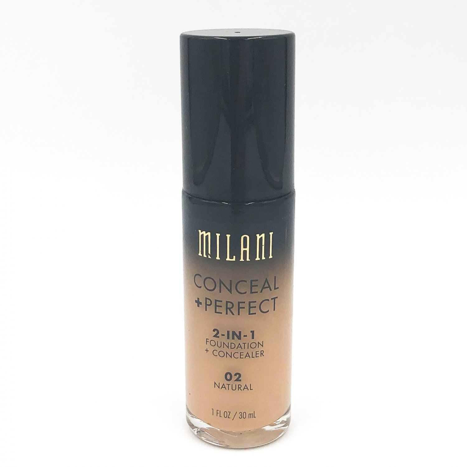 Milani Conceal + Perfect 2-in-1 Foundation + Concealer 02 Natural