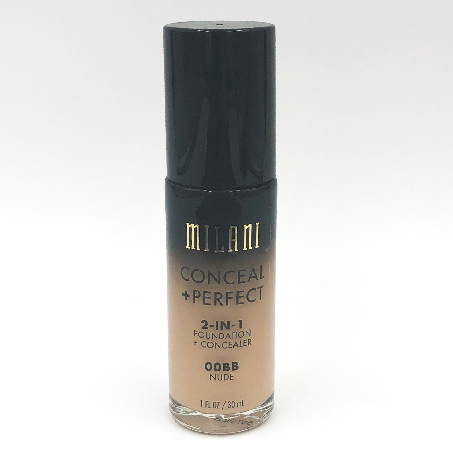 Milani Conceal + Perfect 2-in-1 Foundation + Concealer 00BB Nude
