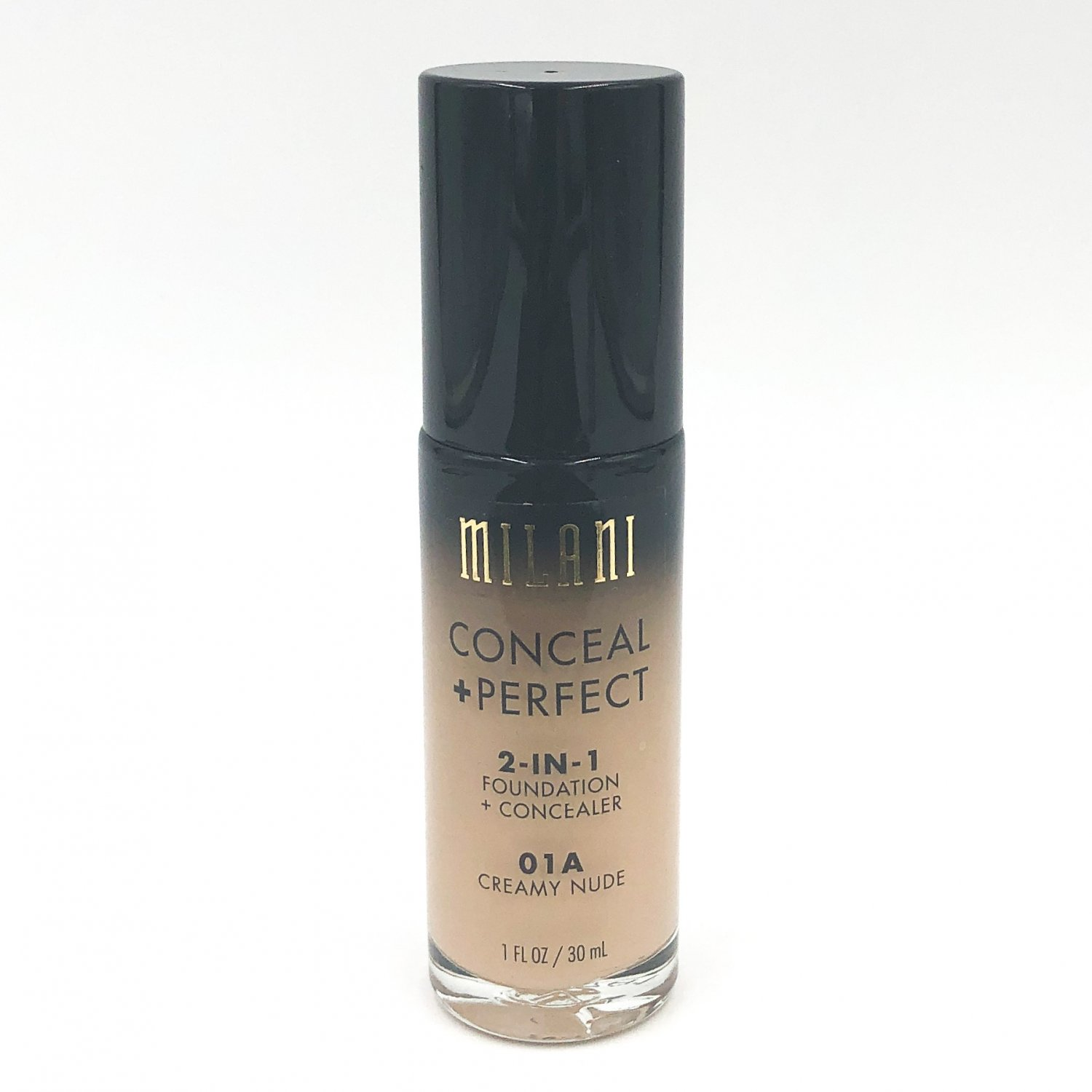 Milani Conceal + Perfect 2-in-1 Foundation + Concealer 01A Creamy Nude