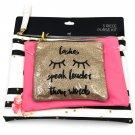 Allegro 3-Piece Makeup Bag Mini Purse Set
