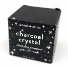 Peach Slices Charcoal Crystal Clarifying Shimmer Peel Off Mask