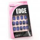 Fing'rs Edge Fashion Nails Short Purple Black 31114 Fake Nails