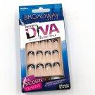 Broadway Nails Fashion Diva 20987 Glisten Nail Kit Rose Lace Medium Tips