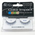 Ardell Color Impact 110 Blue Faux Eye Lashes