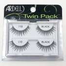 Ardell 110 Black Faux Eye Lashes Twin Pack