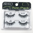 Ardell 120 Demi Black Faux Eye Lashes Twin Pack
