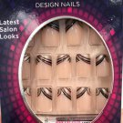 Nailene Couture Nails Kit 71164 Brown & Gold Tips