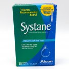 Systane Lubricant Eye Drops, 30CT