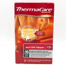 ThermaCare Advanced Back Pain Therapy Heatwraps