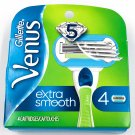 Gillette Venus Extra Smooth 4 Ct Refill Cartridges