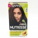 Garnier Nutrisse Hair Color Kit 43 Cocoa Bean dark golden brown