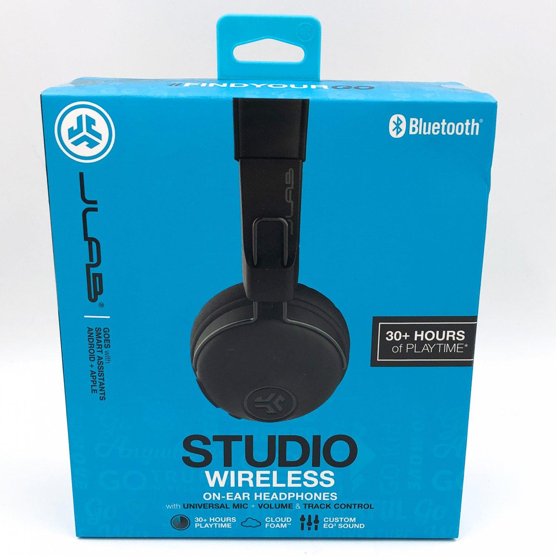 JLab Audio Studio Wireless Bluetooth On-Ear Headphones