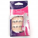 Nailene Couture Designer Nails Kit 71164 Silver Floral French