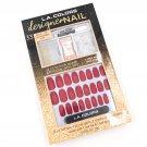 LA COLORS Designer Nail Festive 33-pc Fake Nails & Art Kit