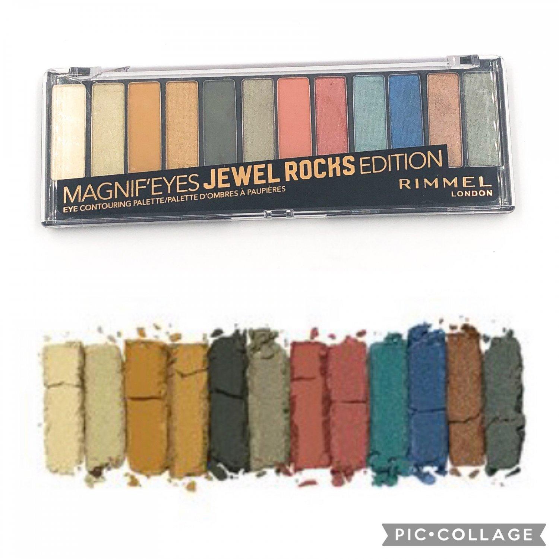 Rimmel London Magnif�Eyes Jewel Rocks Edition Eye Contouring Palette Eyeshadow