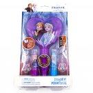 Disney Frozen II 7-Piece Kids Cosmetic Set with Light Up Mirror