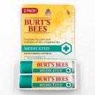 Burts Bees Medicated Lip Balm 2-pack