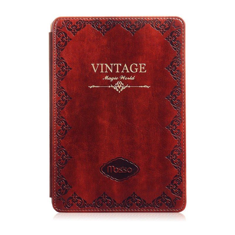 MOSSO iPad Air 2/ iPad Mini Classic Vintage Style Leather Case (Dark brown)